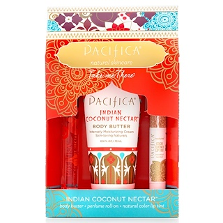 Pacifica, Take Me There, Indian Coconut Nectar, 3 Piece Kit