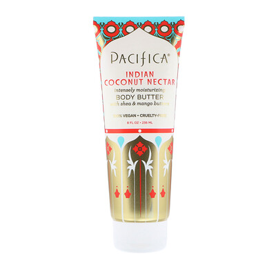 Pacifica Body Butter, Indian Coconut Nectar, 8 fl oz (236 ml)