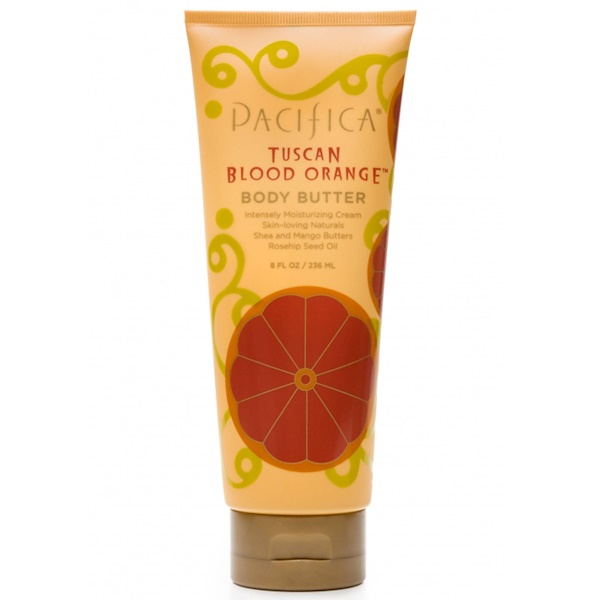 Pacifica, Body Butter, Intensely Moisturizing Cream, Tuscan Blood Orange, 8 fl oz (236 ml) (Discontinued Item)