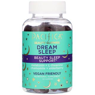 Pacifica, Beauty Gummies, Dream Sleep, Beauty Sleep Support,  60 Gummies