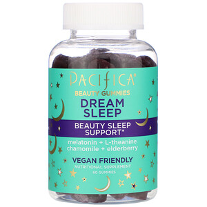 Pacifica, Beauty Gummies, Dream Sleep, Beauty Sleep Support,  60 Gummies