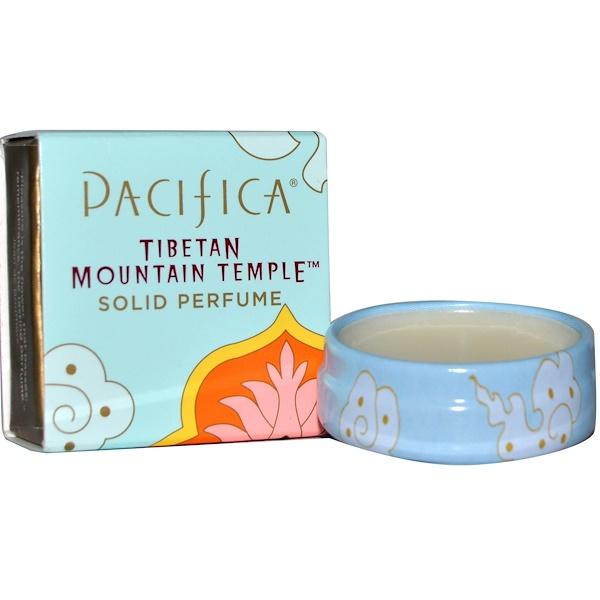 Pacifica, 練り香水, チベタン・マウンテン・テンプル, .33 オンス (10 g) (Discontinued Item)