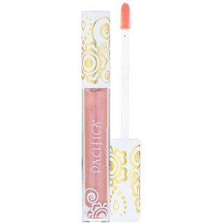 Pacifica, Enlightened Gloss, Nourishing Mineral Lip Shine, Beach Kiss, 0.10 oz (2.8 g)