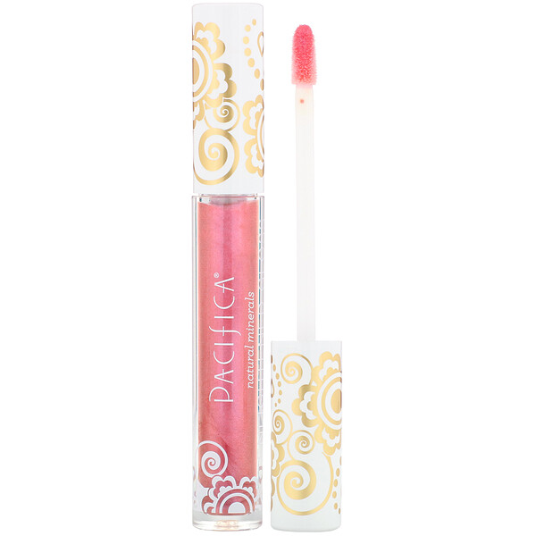 Enlightened Gloss, Brillo Mineral Nutritivo para los Labios, Beso Playero, 0.10 oz (2.8 g)
