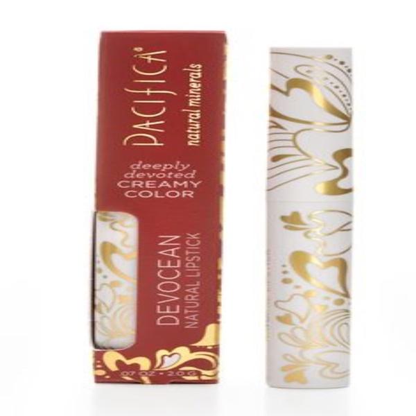 Pacifica, Devocean, Natural Lipstick, Natural Mystic, .07 oz (2.0 g)