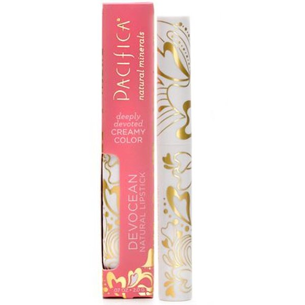 Pacifica, Devocean, Natural Lipstick, Tenderness, .07 oz (2.0 g) (Discontinued Item)