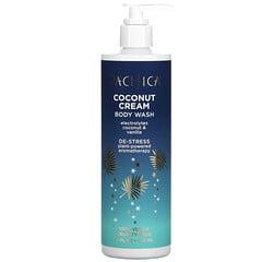 Pacifica, 椰子奶油,沐浴露,電解質,椰子和香草,12 液量盎司(355 毫升)
