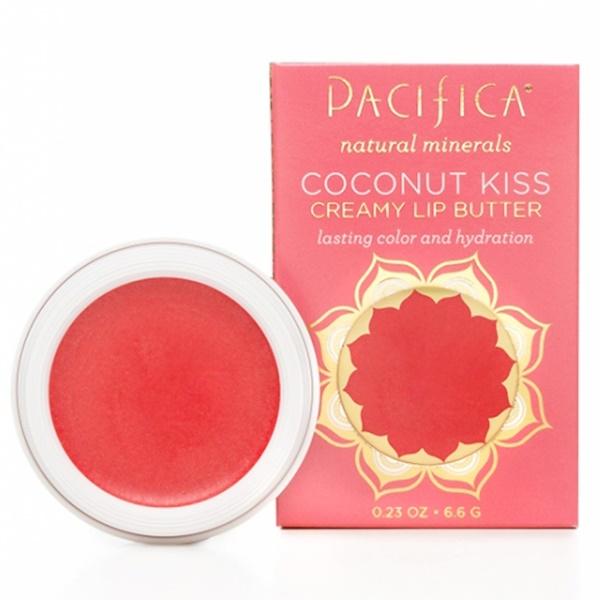Pacifica, ココナッツキス, クリーミーリップバター, サンセット, 0.23オンス (6.6 g) (Discontinued Item)