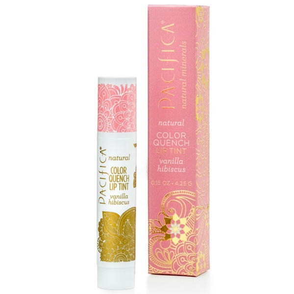 Pacifica, Natural Color Quench Lip Tint, Vanilla Hibiscus, 0.15 oz (4.25 g)