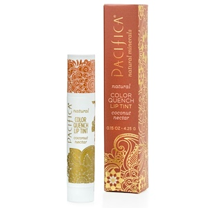 Пасифика, Natural Color Quench Lip Tint, Coconut Nectar, 0.15 oz (4.25 g) отзывы покупателей