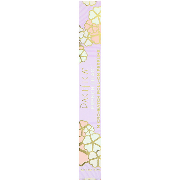 Pacifica, Perfume Roll-On, French Lilac, .33 fl oz (10 ml) (Discontinued Item)
