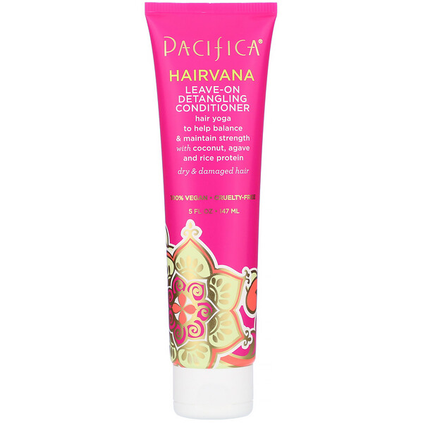 Pacifica, Hairvana, Leave-On Detangling Conditioner, 5 fl oz (147 ml) (Discontinued Item)