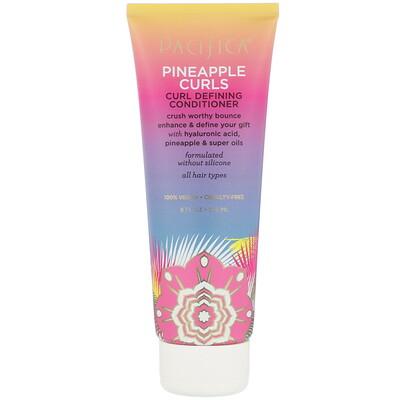 Pacifica Pineapple Curls, кондиционер для придания формы вьющимся волосам, с экстрактом ананаса, 236мл (8жидк.унций)
