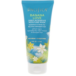 Пасифика, Banana Love, Deep Intensive Moisture Mask, 6 fl oz (177 ml) отзывы