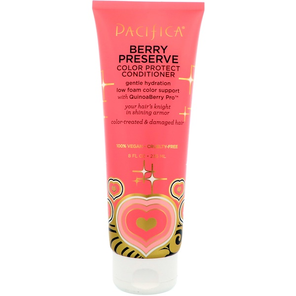 Pacifica, Berry Preserve Color Protect Conditioner, 8 fl oz (236 ml)