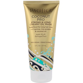 Pacifica, Coconut Pro, Strong & Long Creamy Oil Mask, 6 fl oz (177 ml)