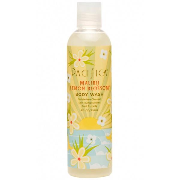 Pacifica, Body Wash, Malibu Lemon Blossom, 8 fl oz (236 ml) (Discontinued Item)