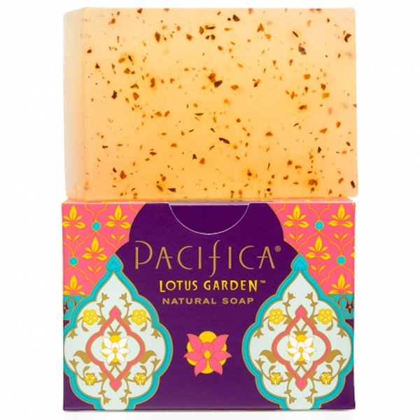 Pacifica, Natural Soap, Lotus Garden, 6 oz (170 g) (Discontinued Item)