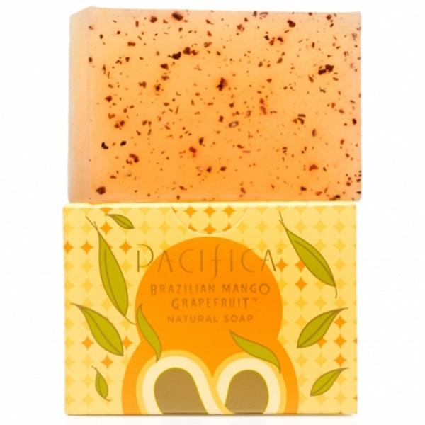 Pacifica, Natural Soap, Brazilian Mango Grapefruit, 6 oz (170 g) (Discontinued Item)