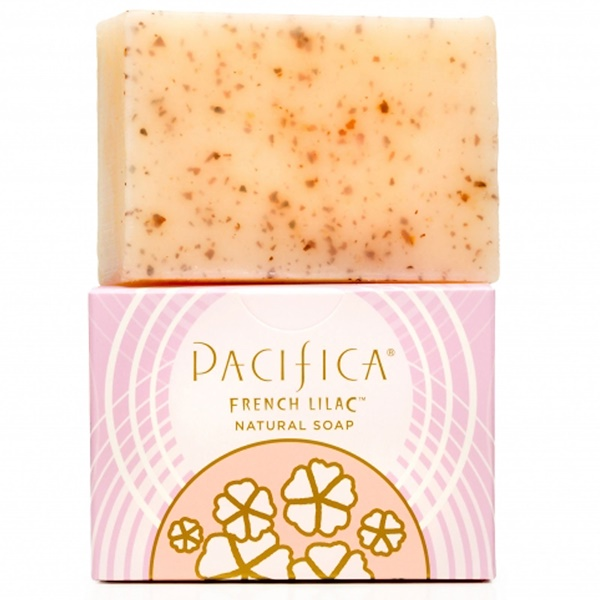 Pacifica, Natural Soap, French Lilac, 6 oz (170 g) (Discontinued Item)