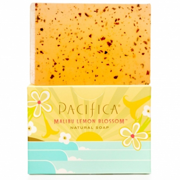 Pacifica, Natural Soap, Malibu Lemon Blossom, 6 oz (170 g) (Discontinued Item)
