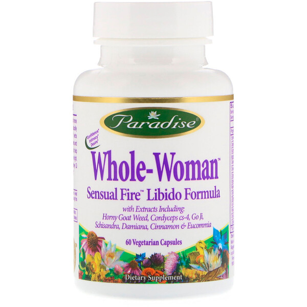 Whole-Woman, Sensual Fire Libido Formula, 60 Vegetarian Capsules