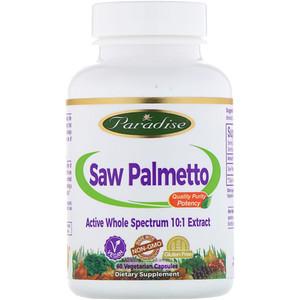 Парадайз Хербс, Saw Palmetto, 60 Vegetarian Capsules отзывы