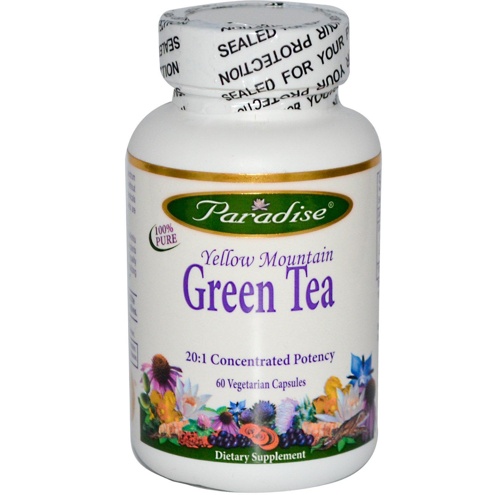 Paradise green tea