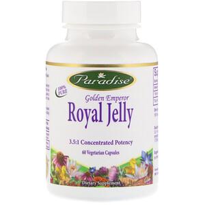 Парадайз Хербс, Golden Emperor Royal Jelly, 60 Vegetarian Capsules отзывы
