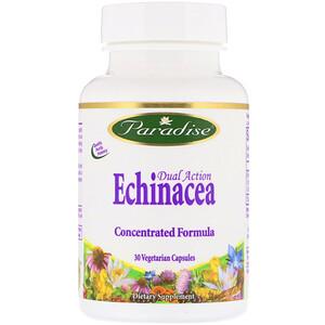 Парадайз Хербс, Dual Action Echinacea, 30 Vegetarian Capsules отзывы