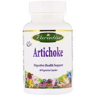 Paradise Herbs, Artichoke, 60 Vegetarian Capsules