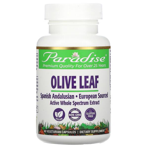Olive Leaf, 60 Vegetarian Capsules