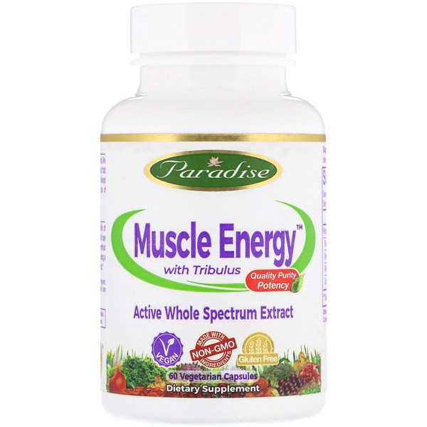 Muscle Energy with Tribulus, 60 Vegetarian Capsules