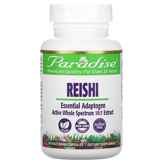 Paradise Herbs, Reishi, 60 Vegetarian Capsules