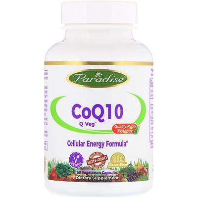 Купить CoQ10, Q-Veg, 60 Vegetarian Capsules