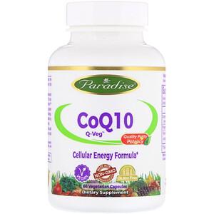 Парадайз Хербс, CoQ10, Q-Veg, 60 Vegetarian Capsules отзывы