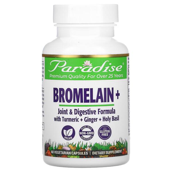 Bromelain+, 60 Vegetarian Capsules