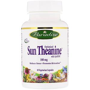Парадайз Хербс, Optimized Sun Theanine, 100 mg, 30 Vegetarian Capsules отзывы покупателей