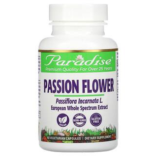 Paradise Herbs, Passion Flower, 60 Vegetarian Capsules