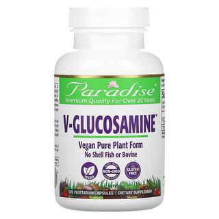 Paradise Herbs, V-Glucosamine, 120 Vegetarian Capsules