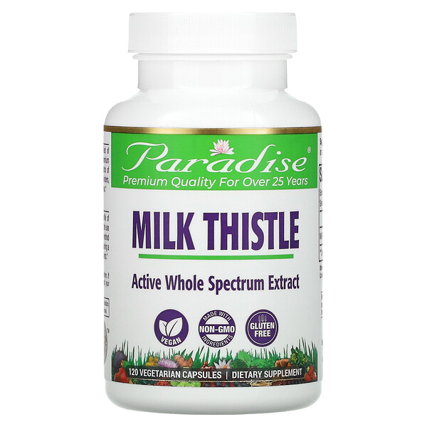Milk Thistle, 120 Vegetarian Capsules