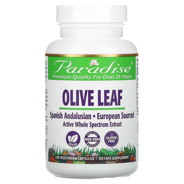 Olive Leaf, 120 Vegetarian Capsules