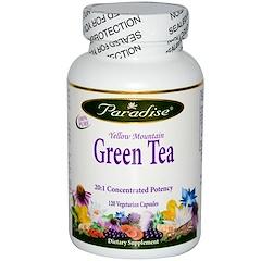 Paradise Herbs, Yellow Mountain Green Tea, 120 Veggie Caps