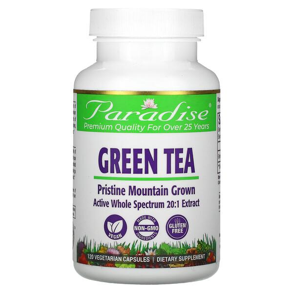 Green Tea, 120 Vegetarian Capsules