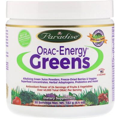 ORAC-Energy Greens, 6.4 унций (182 г)