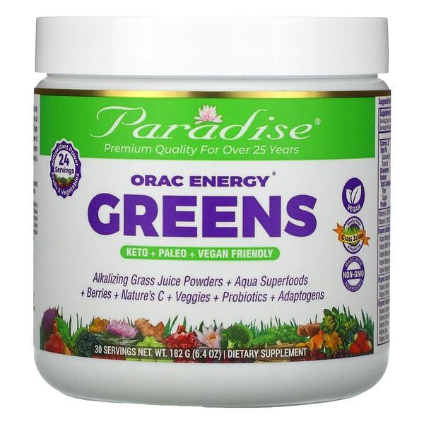 ORAC-Energy Greens, 6.4 oz (182 g)