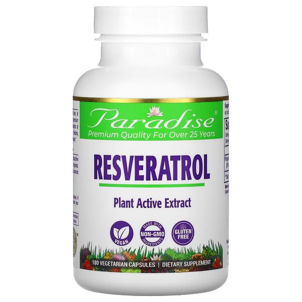 Resveratrol, 180 Vegetarian Capsules