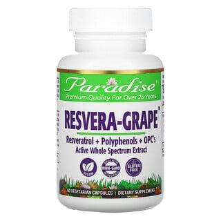 Paradise Herbs, Resvera-Grape, 60 Vegetarian Capsules