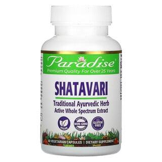 Paradise Herbs, Shatavari, 60 Vegetable Capsules