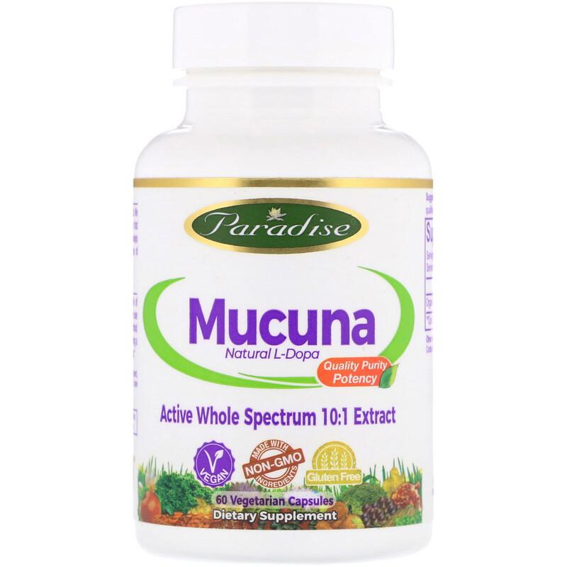Mucuna, 60 Vegetarian Capsules